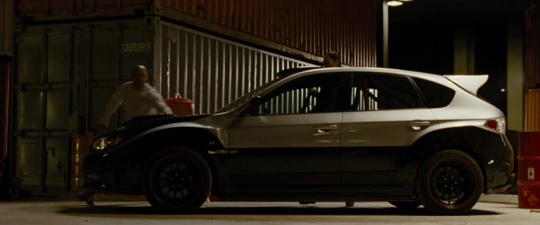 Subaru Impreza WRX STi Car in Fast & Furious (3)