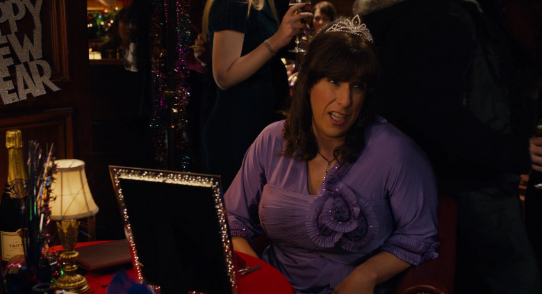 Taittinger Champagne Enjoyed by Adam Sandler as Jill in Jack and Jill Movie (2)