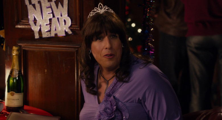Taittinger Champagne Enjoyed by Adam Sandler as Jill in Jack and Jill Movie (4)