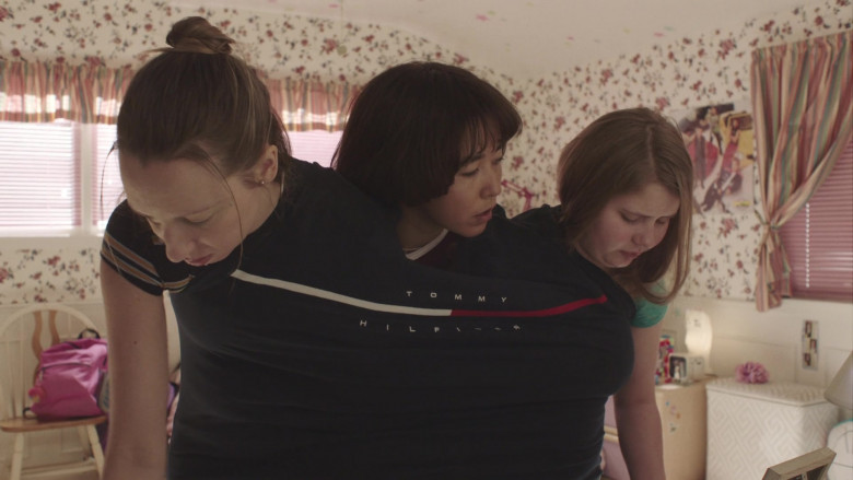 Tommy Hilfiger T-Shirt Worn by Maya Erskine in PEN15 S02E04 (2)