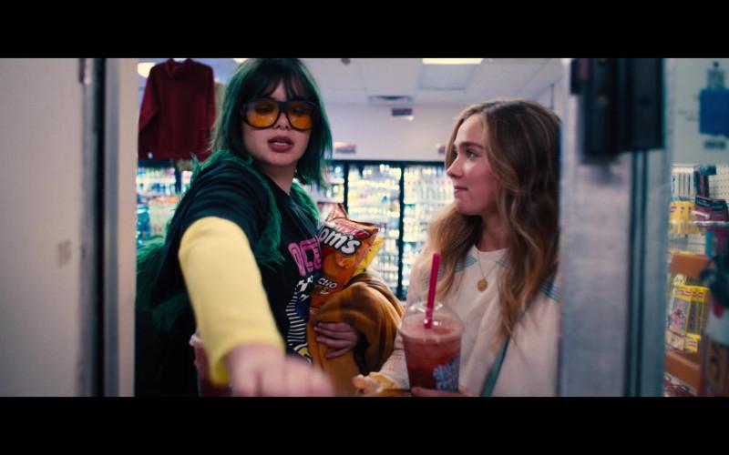 Tom's Nacho Rings of Barbie Ferreira as Bailey in Unpregnant (2020)