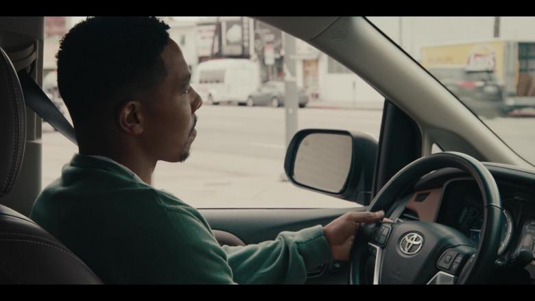 Toyota Sienna Car of Allen Maldonado as Devin in Sneakerheads S01E01 101 TV Series (2)