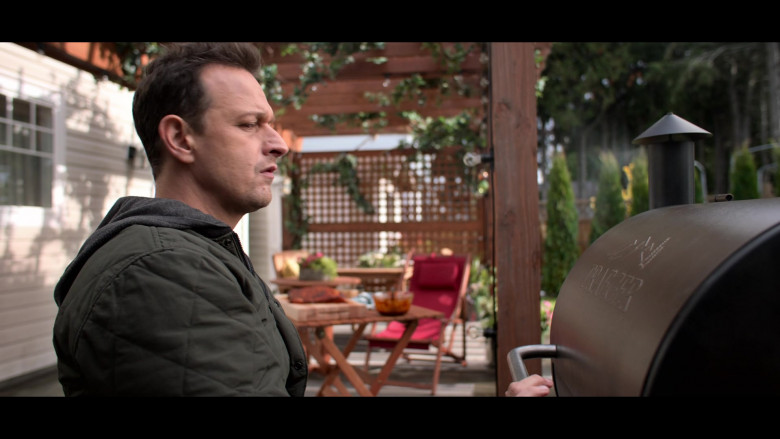 Traeger Grill Used by Josh Charles as Matt Logan in Away S01E05