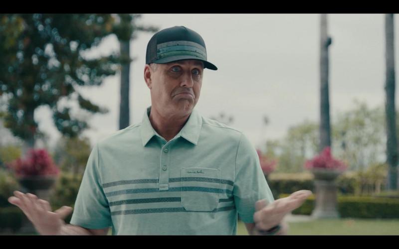 TravisMathew Men's Striped Polo Shirt in Sneakerheads S01E03