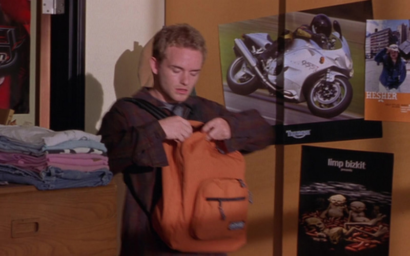Triumph Daytona 955i Motorcycle Poster in Scary Movie 2