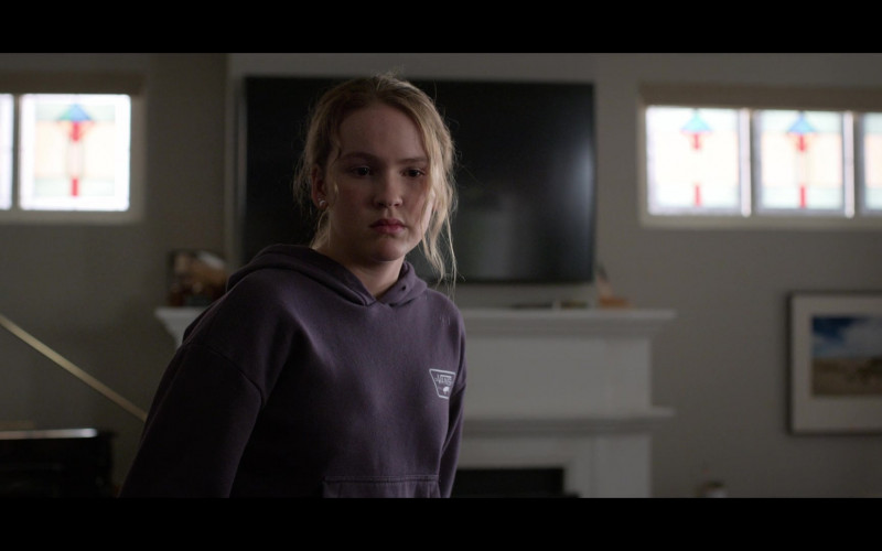 Vans Hoodie of Talitha Bateman as Alexis 'Lex' Logan in Away S01E05