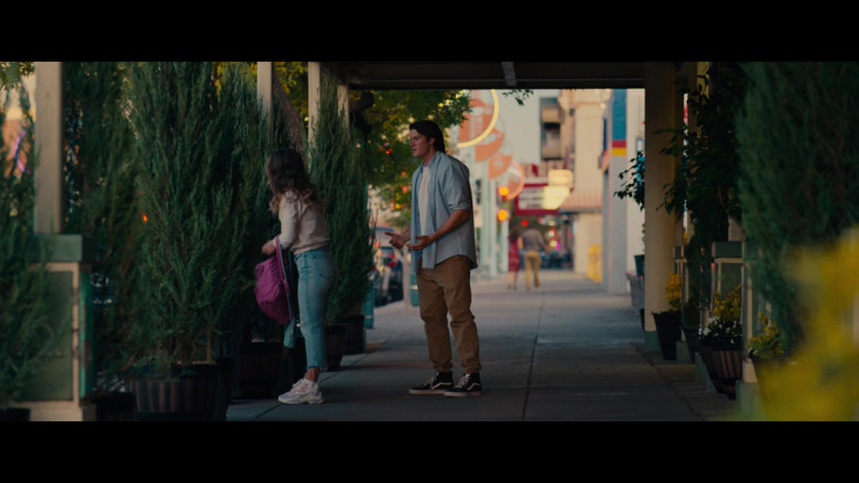 Vans Shoes of Alex MacNicoll as Kevin in Unpregnant (2020)