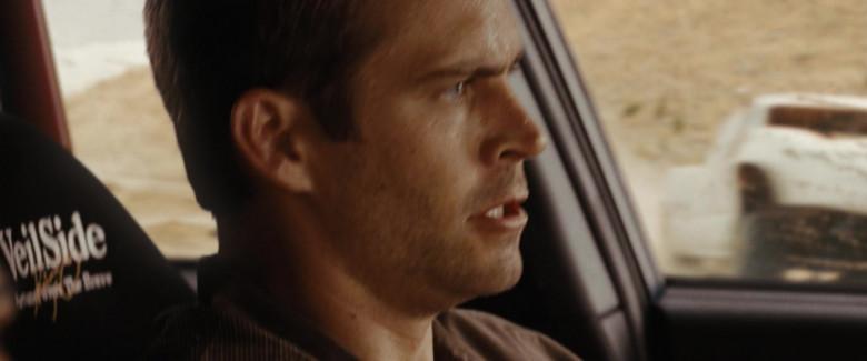 VeilSide Car Seats of Paul Walker as Brian O'Conner in Fast & Furious