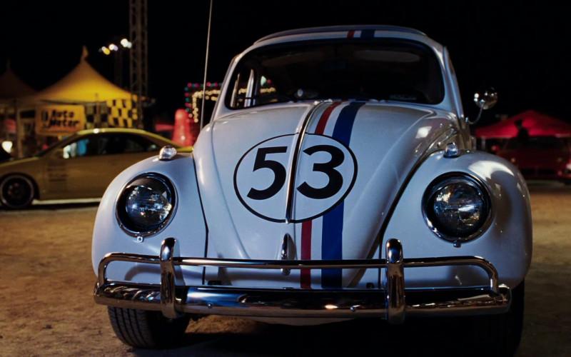 Volkswagen Beetle Sun-Roof Sedan [Typ 1] Car in Herbie Fully Loaded Movie (14)