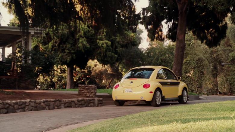Volkswagen New Beetle Yellow Car of Cheryl Hines as Sally in Herbie Fully Loaded (1)