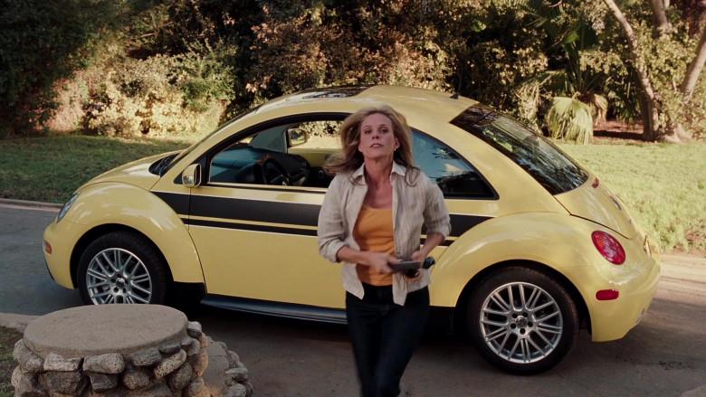 Volkswagen New Beetle Yellow Car of Cheryl Hines as Sally in Herbie Fully Loaded (2)