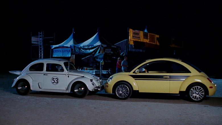 Volkswagen New Beetle Yellow Car of Cheryl Hines as Sally in Herbie Fully Loaded (3)