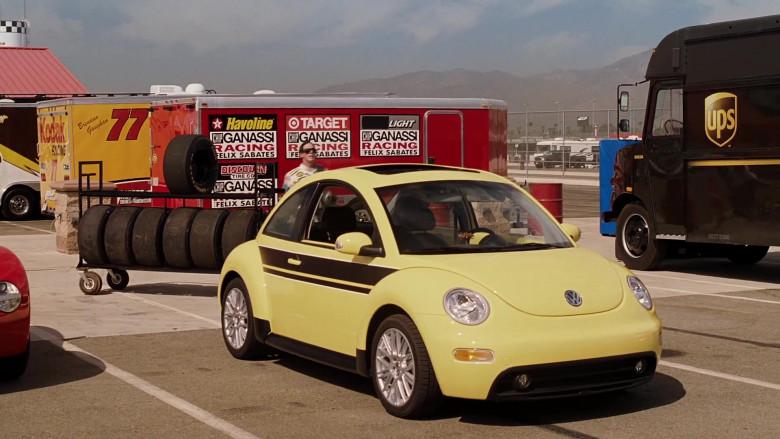 Volkswagen New Beetle Yellow Car of Cheryl Hines as Sally in Herbie Fully Loaded (4)
