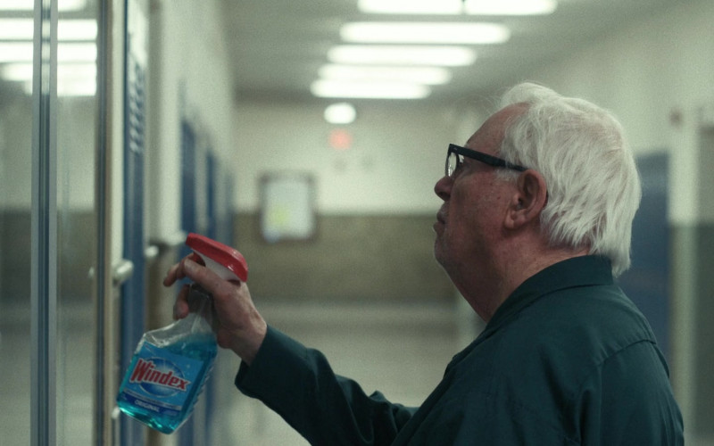 Windex Cleaner of Guy Boyd as Janitor in I'm Thinking of Ending Things
