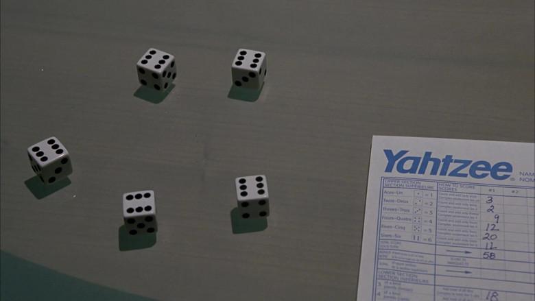 Yahtzee Game by Milton Bradley in Scary Movie 3 (2003)
