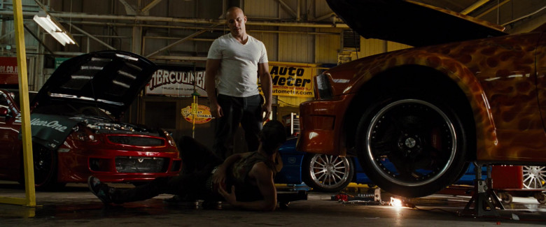 YearOne, Herculiner, Auto Meter in Fast & Furious (2009)