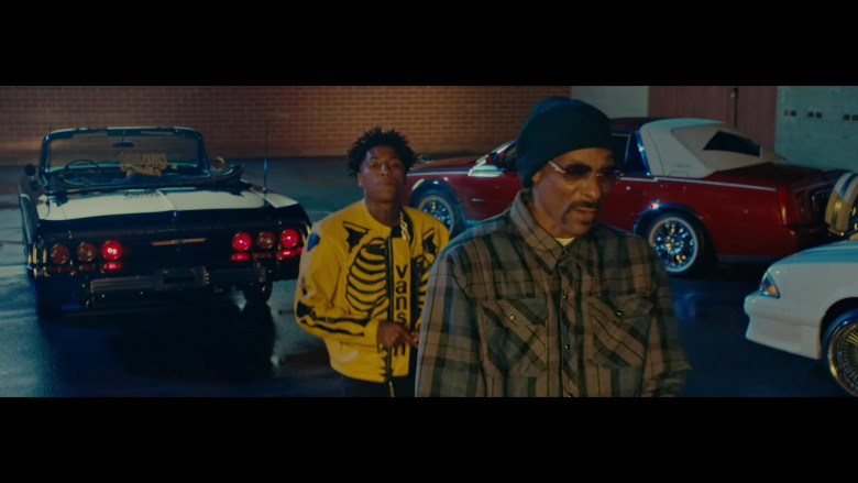 YoungBoy Never Broke Again Wears Vanson Leather Yellow Jacket Outfit in Callin Music Video (2)