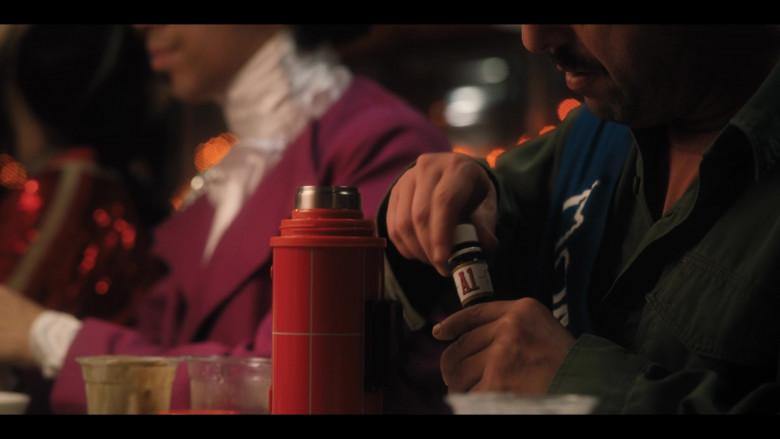 A1 Sauce Held by Adam Sandler as Hubie Dubois in Hubie Halloween (1)