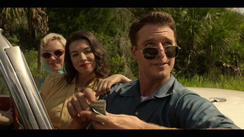 AO Pilot Sunglasses (Gold Frame) in The Right Stuff S01E02 TV Show (3)