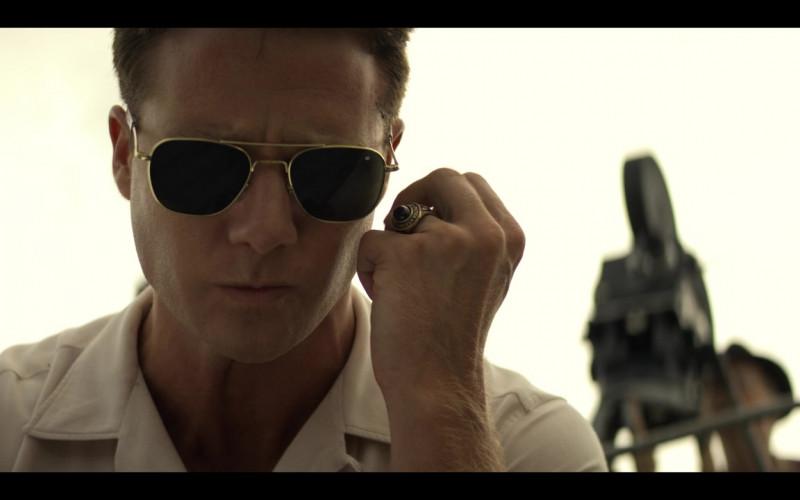 AO Pilot Sunglasses of Jake McDorman as Alan Shepard in The Right Stuff S01E03 TV Show