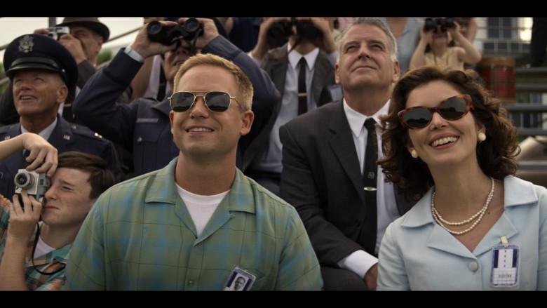 AO Pilot Sunglasses of Patrick J. Adams as John Glenn in The Right Stuff S01E03 TV Show (1)
