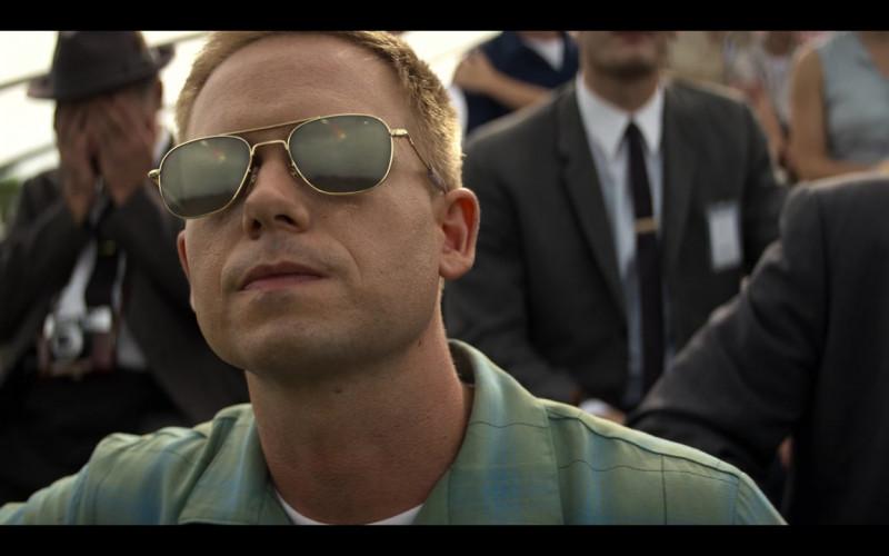 AO Pilot Sunglasses of Patrick J. Adams as John Glenn in The Right Stuff S01E03 TV Show (2)
