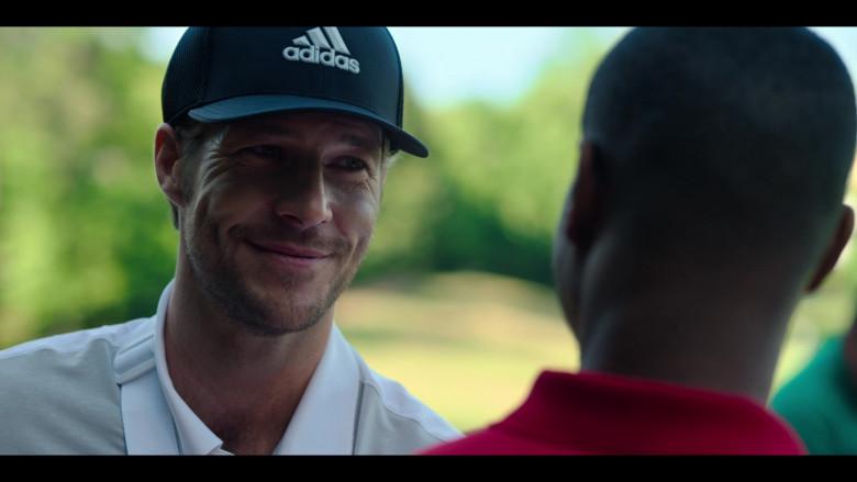 Adidas Cap of Luke Bracey as Jackson in Holidate Netflix Film (2)