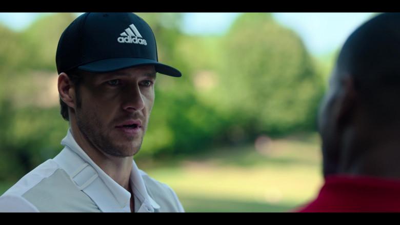 Adidas Cap of Luke Bracey as Jackson in Holidate Netflix Film (3)