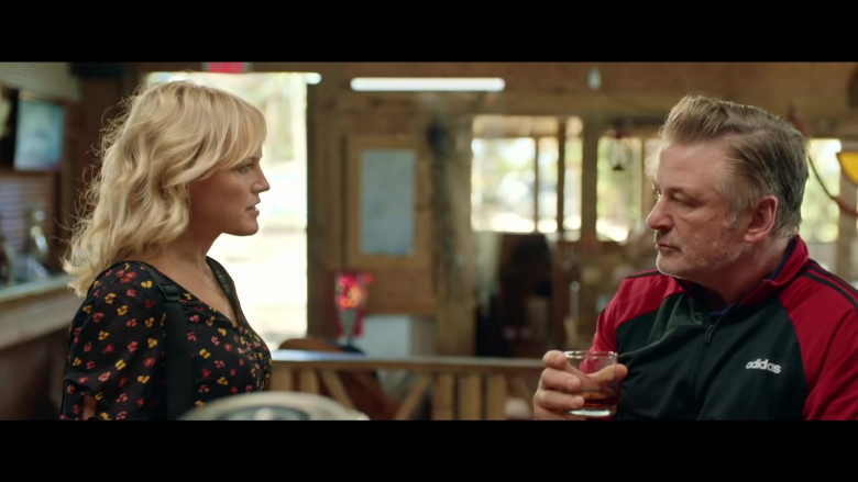 Adidas Red-Black Jacket Sports Outfit of Alec Baldwin as Jack Murphy in Chick Fight Movie (2)
