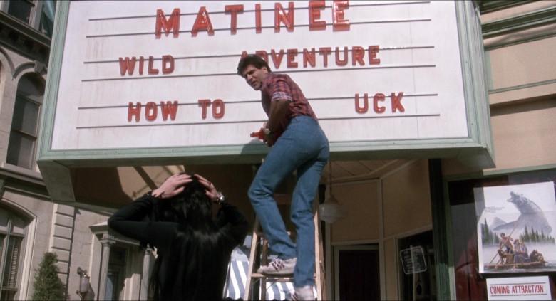 Adidas Sneakers of Daniel Greene as Bob Redding in Elvira Mistress of the Dark (1988)