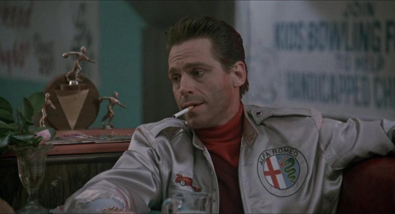 Alfa Romeo Jacket of Jeff Conaway as Travis in Elvira Mistress of the Dark (1)