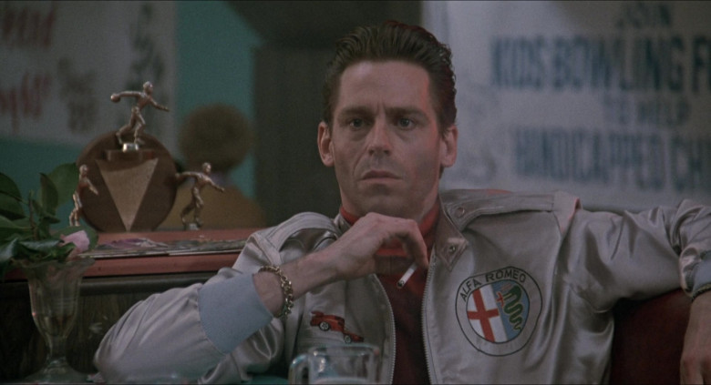 Alfa Romeo Jacket of Jeff Conaway as Travis in Elvira Mistress of the Dark (2)