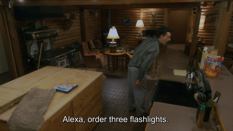 Amazon Echo Smart Speaker 'Alexa' Virtual Assistant Used by Sacha Baron Cohen in Borat Subsequent Moviefilm (2020)