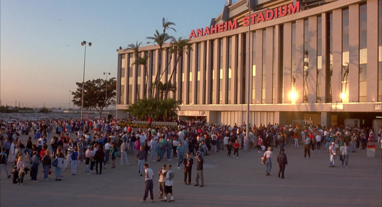 Anaheim Stadium in Angels in the Outfield (2)
