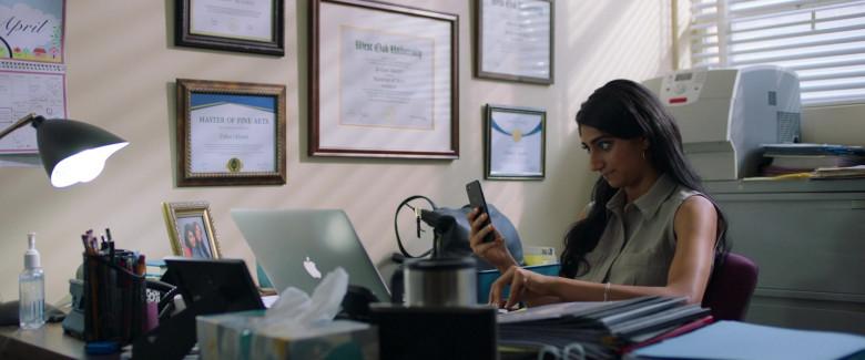 Apple MacBook Pro Laptop of Sunita Mani as Pallavi in Evil Eye Movie (1)