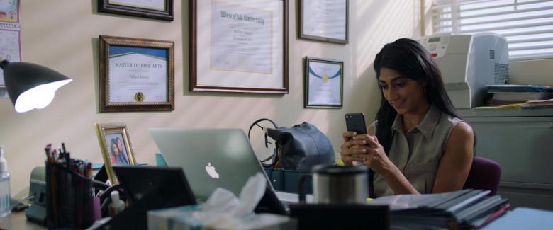 Apple MacBook Pro Laptop of Sunita Mani as Pallavi in Evil Eye Movie (2)