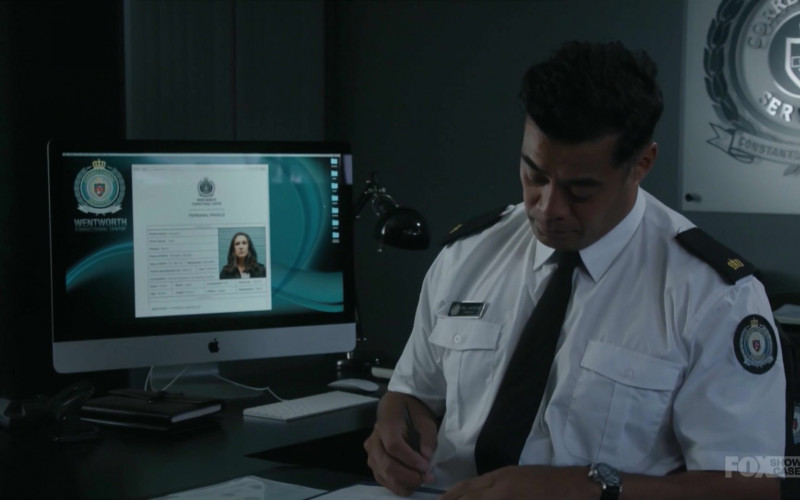 Apple iMac Computer Used by Robbie Magasiva as Will Jackson in Wentworth S08E10 (1)
