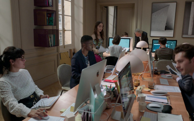 Apple iMac Computers in Emily in Paris S01E03 (3)