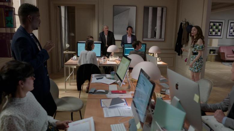 Apple iMac Computers in Emily in Paris S01E03 (4)