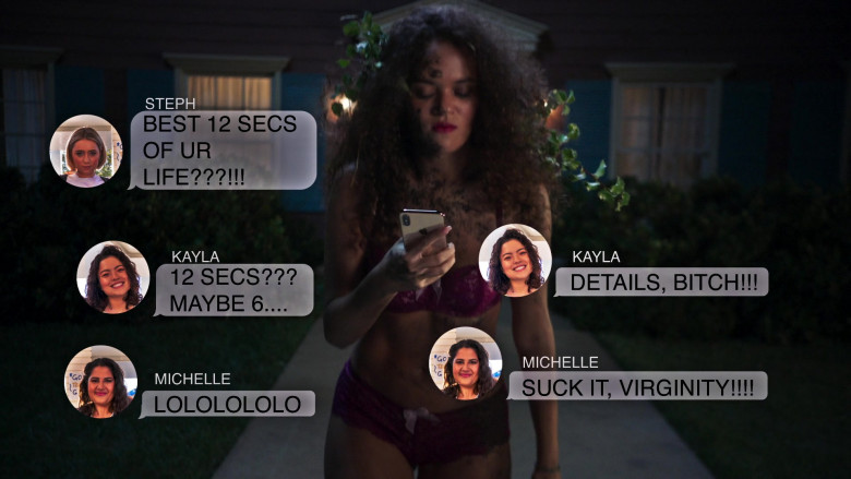 Apple iPhone Smartphone of Madison Pettis as Annie in American Pie Presents Girls' Rules (1)