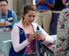 Apple iPhone Smartphone of Nichole Bloom as Cheyenne in Supe...