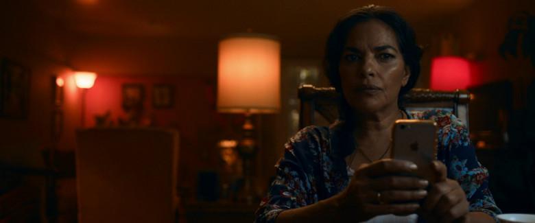 Apple iPhone Smartphone of Sarita Choudhury as Usha in Evil Eye Movie (3)