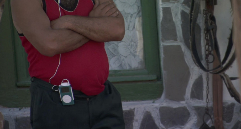 Apple iPod Media Player in Borat Movie