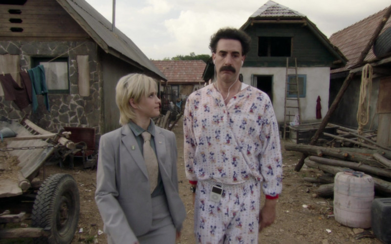 Apple iPod Player of Sacha Baron Cohen in Borat Subsequent Moviefilm (2020)