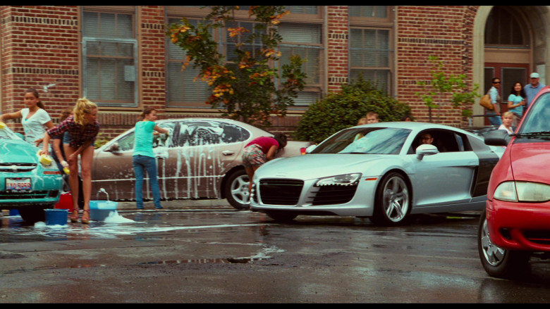 Audi R8 Sports Car of Justin Timberlake as Scott Delacorte in Bad Teacher (1)