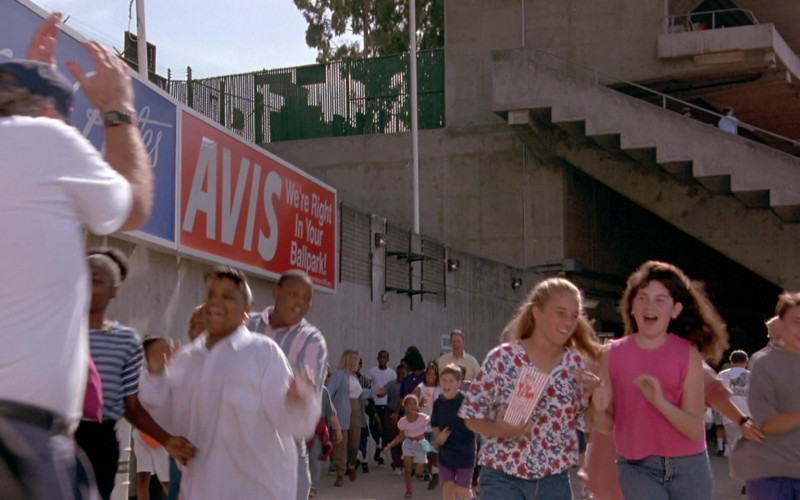 Avis Car Rental in Angels in the Outfield (1994)