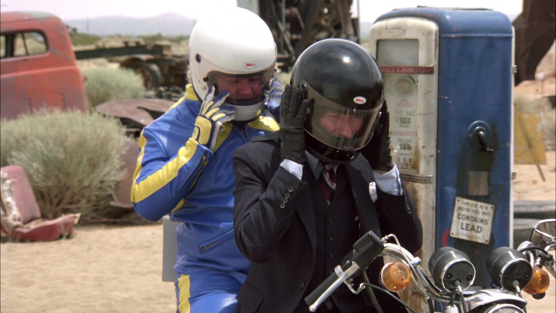 Bell Motorcycle Helmets in The Cannonball Run (2)