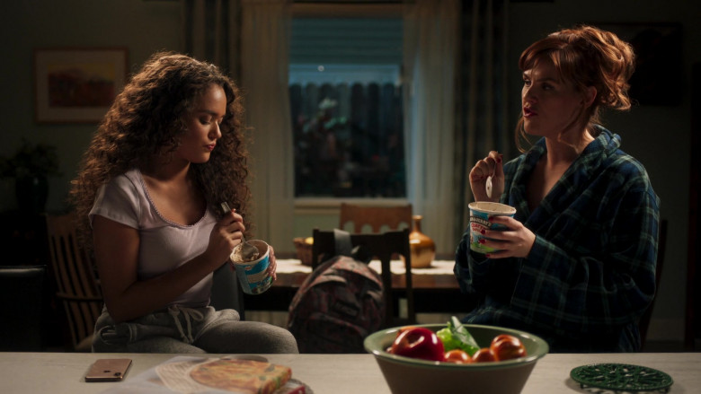 Ben & Jerry's Ice Cream Enjoyed by Sara Rue as Ellen in American Pie Presents Girls' Rules (1)