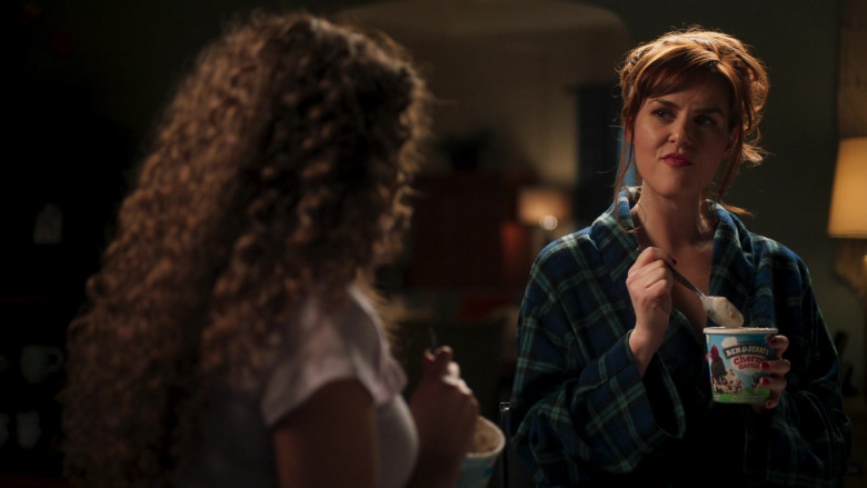 Ben & Jerry's Ice Cream Enjoyed by Sara Rue as Ellen in American Pie Presents Girls' Rules (2)