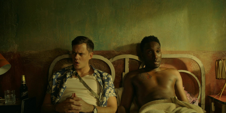 Bohemia Beer of Bill Skarsgård as Mateo in Soulmates S01E04 (1)